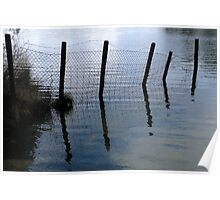 A Water Fence Poster