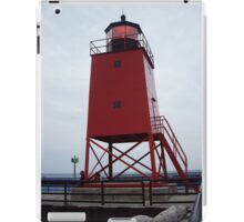 Charlevoix South Pier Lighthouse iPad Case/Skin