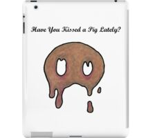 Kiss a Pig iPad Case/Skin