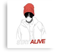 Stay Alive {FULL} Canvas Print