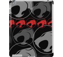 The Iconic Thundercats (black) iPad Case/Skin