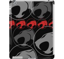The Iconic Thundercats (black) iPad Case/Skin
