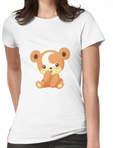 Teddiursa  Womens Fitted T-Shirt