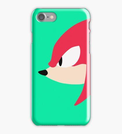 Knuckles the Echidna sega iPhone Case/Skin