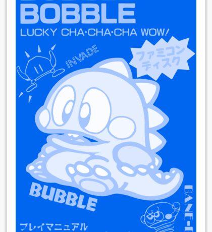Bubble Bobble (Blue) Sticker