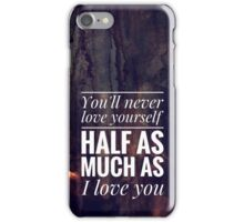 One Direction - Little Things #1 iPhone Case/Skin