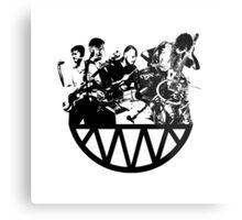 Radiohead Metal Print
