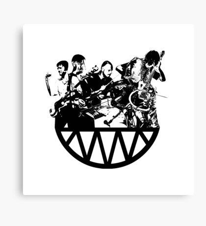 Radiohead Live Canvas Print