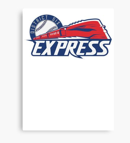 District 6 Express Canvas Print