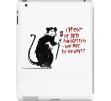 Out of Bed iPad Case/Skin