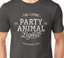 Party Animal - white - shirt Unisex T-Shirt