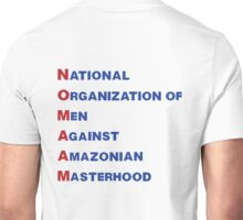 NO MA'AM (backside) Unisex T-Shirt