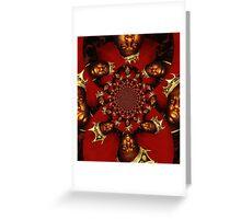 Biggie Smalls kaleidoscope Greeting Card