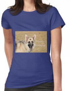 Birthday GSD Womens Fitted T-Shirt