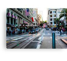 San Francisco Streets Canvas Print