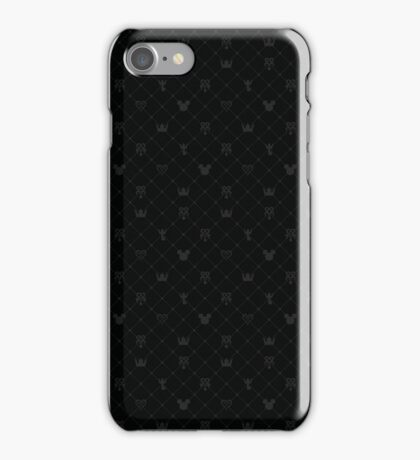 Kingdom Hearts Icons iPhone Case/Skin