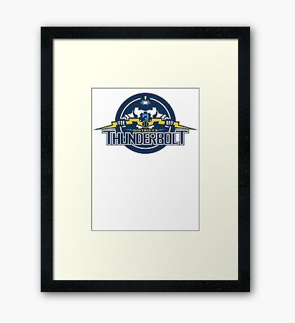 District 3 Thunderbolt Framed Print