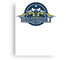 District 3 Thunderbolt Canvas Print
