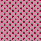 Pink Strawberry Pattern by SaradaBoru