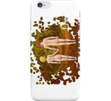 Nude Walk in the Autumn iPhone Case/Skin
