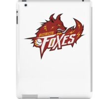 District 5 Power Foxes iPad Case/Skin