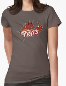 District 5 Power Foxes Womens Fitted T-Shirt