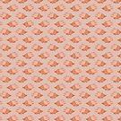 Cute Triceratops Pattern by SaradaBoru