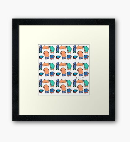 Silly Thingies Framed Print
