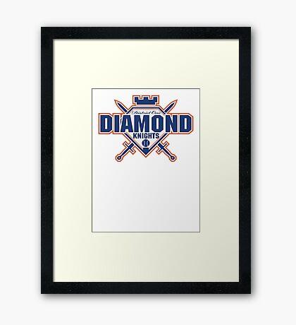 District 1 Diamond Knights Framed Print