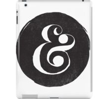AMPERSAND iPad Case/Skin