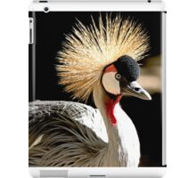 Royal Crowned Crane iPad Case/Skin