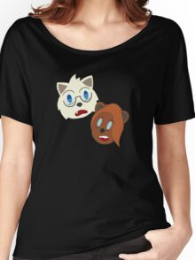 Streamin' Scardey Cats Women's Relaxed Fit T-Shirt
