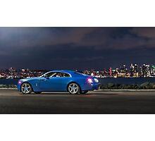 Rolls-Royce Wraith Side Photographic Print