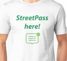StreetPass here! Unisex T-Shirt
