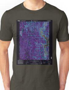 USGS TOPO Map California CA Challenge 100026 2000 24000 geo Inverted Unisex T-Shirt