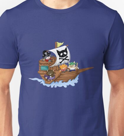 Pirate Cats Unisex T-Shirt