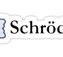 I Like/Dislike Schrödinger! Sticker