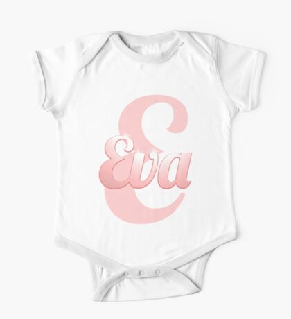 Baby Eva is a Superstar One Piece - Short Sleeve