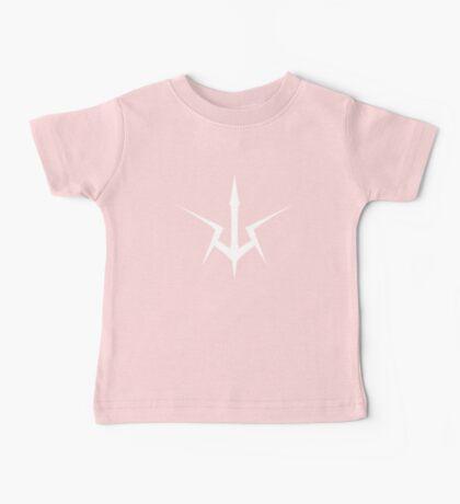 Black Knights Symbol (white) Baby Tee