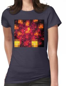 Sun Blocks Womens Fitted T-Shirt