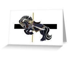 Thorin Oakenshield, Carousel Pony Greeting Card