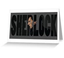 Sherlock - Logo Art Greeting Card