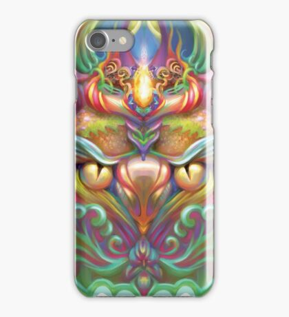 Psychedelic bird iPhone Case/Skin