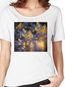 Autumn Blue Sun Women's Relaxed Fit T-Shirt