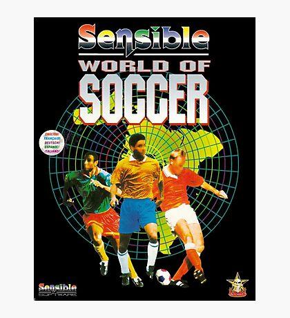 Sensible World of Soccer Photographic Print