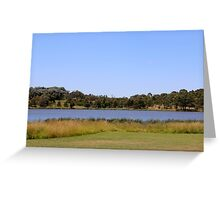 Cut By The Lake Greeting Card