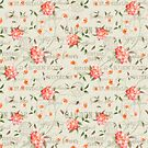 Vintage Floral Fashion Garden by Delights