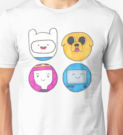 Adventure time bubbles Unisex T-Shirt