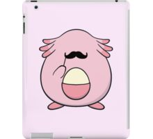 Chansey with a mustache iPad Case/Skin