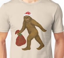 Bigfoot Santa Unisex T-Shirt